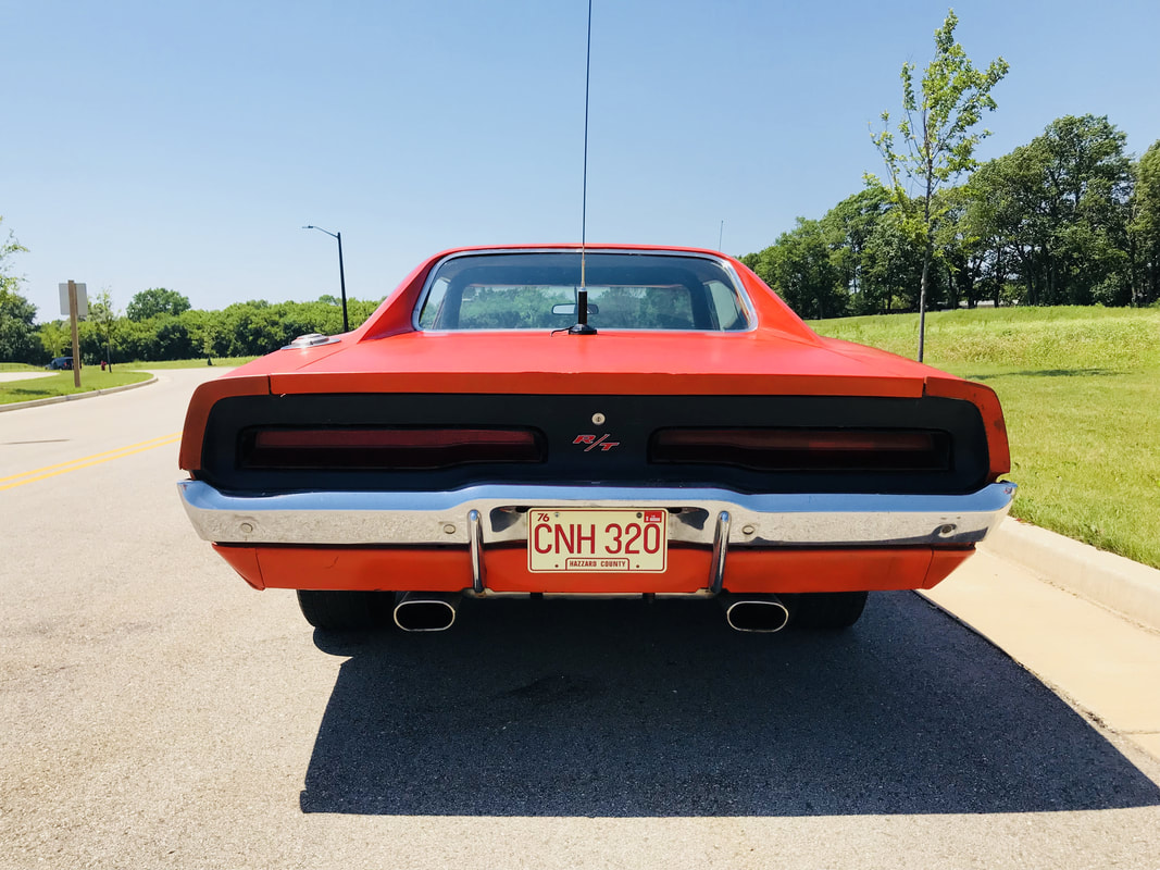 Real General Lee American Classic Muscle Cars 1968 Dodge Charger